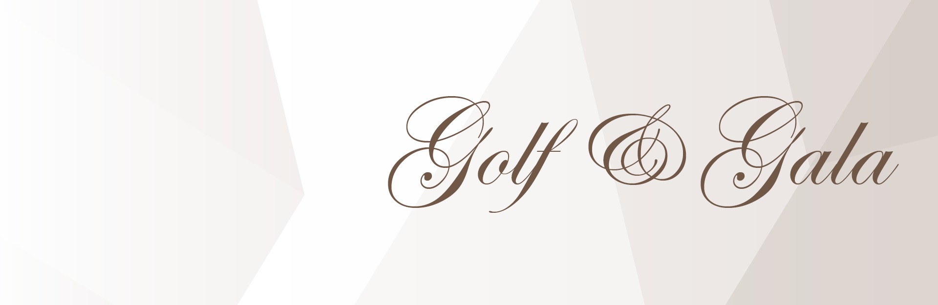 Website Banner Golf and Gala