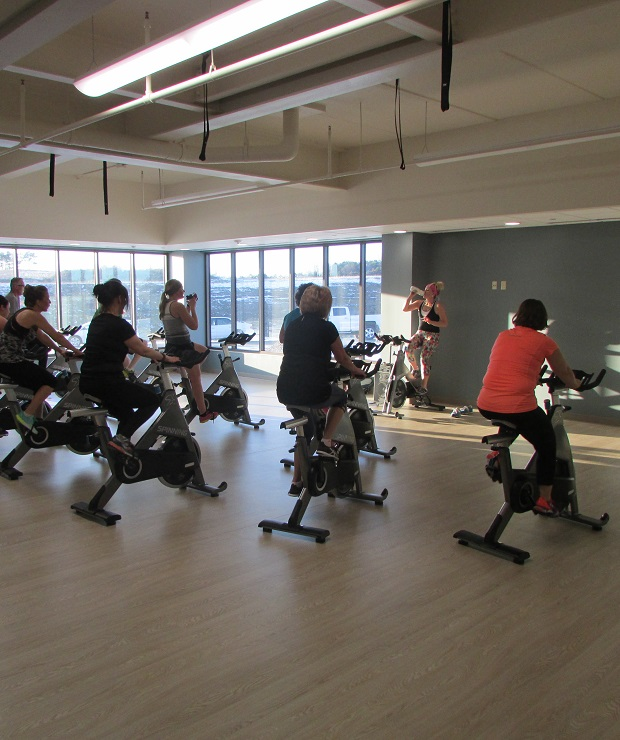 image of fitness center class