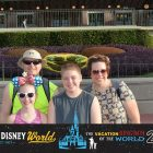image of d2d fam5 in front of mickey field