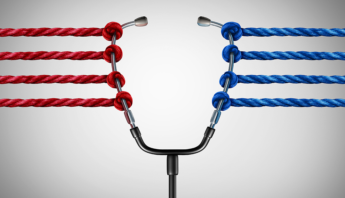Stethascope with Red & Blue Rope